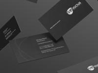MB Inova black brand branding card