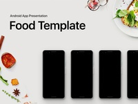Android App Presentation Food Template