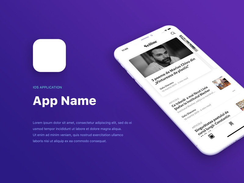 Rotated Clay iOS App Presentation minimal iphone mockup clay render iphone x clay template iphone xs ios presentation app psd mockup free