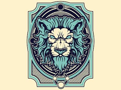 Lion Vector Illustration mouse vector vector illustration lion logo lion lion head lion vector adobe illustrator vector