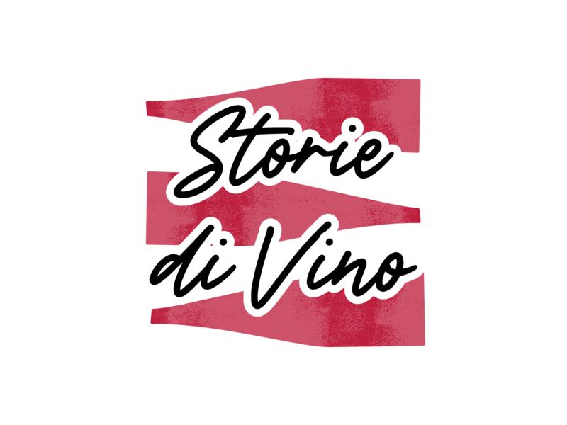 Storie di vino logo wine logo design wine logo logodesign logo