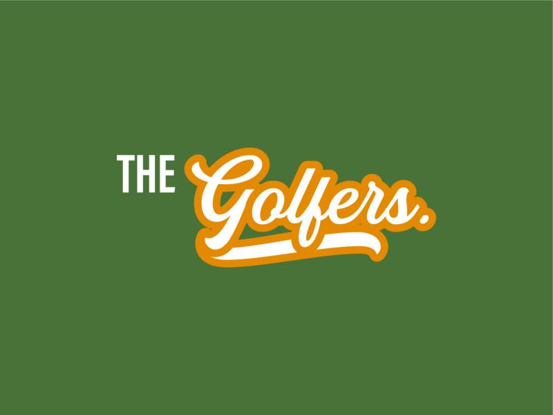 The Golfers logo logo design golfers golf passion golf logo logodesign