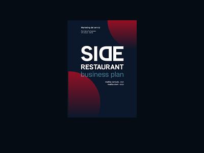 Side Restaurant - Business Plan Cover relation cover brochure cover circles cover book cover business plan cover business plan iusve cover
