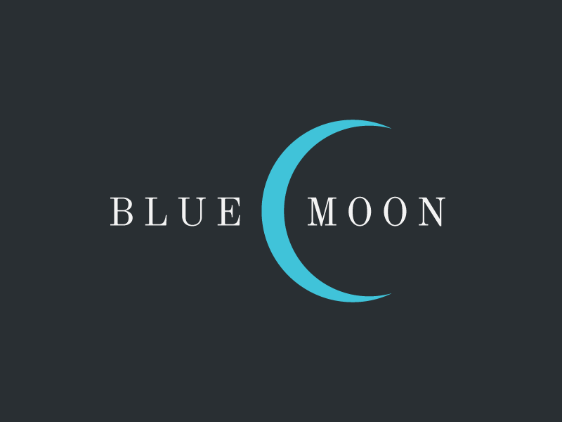 BlueMoon graphics design logo design