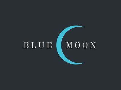 BlueMoon graphics design logo design