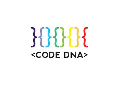 Code DNA graphics design logo design