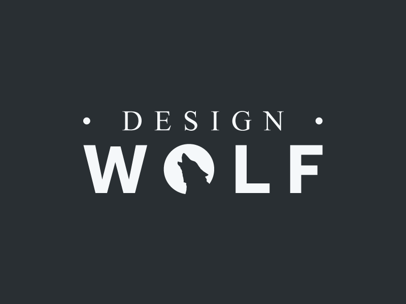 Design Wolf graphics design logo design