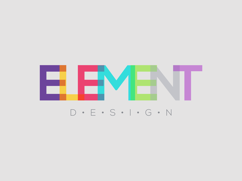 Element Design logo design new