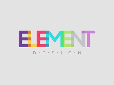 Element Design logo design new