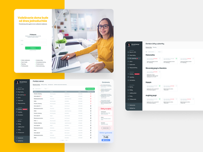 Online Education App Design application user experience uiux ux clean ui app design interface design app