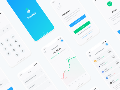 Buffet app crypto ux ui 100 design design app mobile ui  ux ui