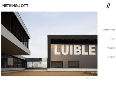 NETHING//OTT Website Project