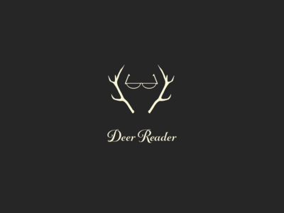 Deer Reader Branding identity digital design digital icon clean branding typography minimal design vector logo