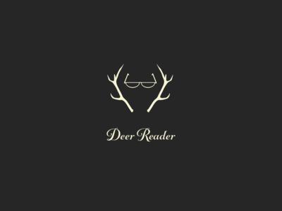 Deer Reader Branding identity digital design digital icon clean branding typography minimal design vector logo