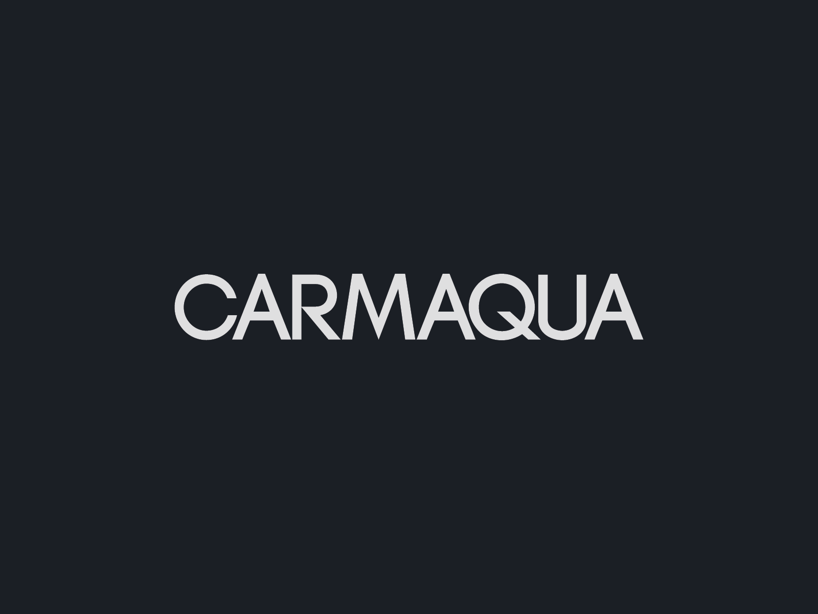 190920 carmaqua logotype inverted