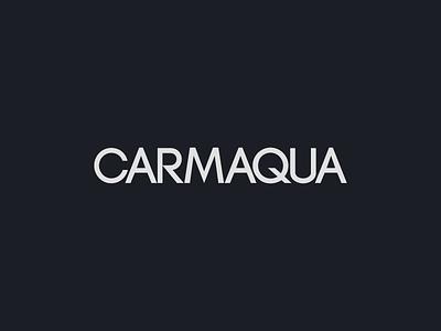 𝗖𝗔𝗥𝗠𝗔𝗤𝗨𝗔 Logotype branding and identity brand identity brand design logotype digital typography logo identity clean branding minimal digital design design