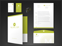 May Firm Stationery and Logo Design