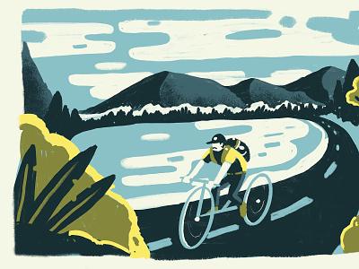 Stroud's illustrator vector flat art illustration
