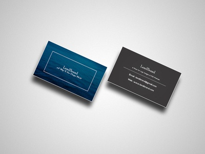 Free Business Card Mockup | PSD File