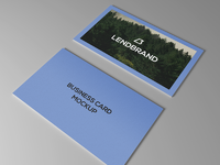 Business card mockup design2