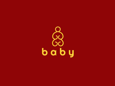 Baby Logo Design | For Sale brandcrowd yellow sale kids logo kids baby logo baby logo logo design