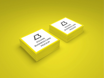 Free square business card psd mockup by lendbrand dribbble free square business card psd mockup reheart Gallery
