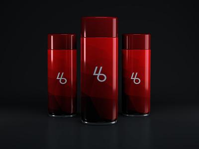 Free PSD Cosmetic Bottle Mockup perfume bottles red product mockups freebie mockups cosmetic mockups free mockups psd mockups psd
