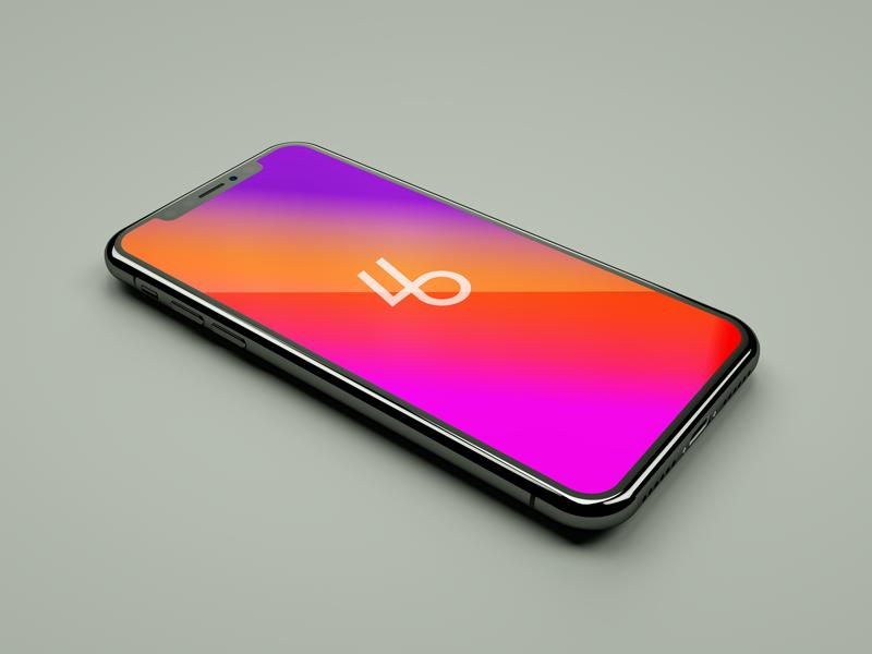 Free iphone x psd mockup vol 1