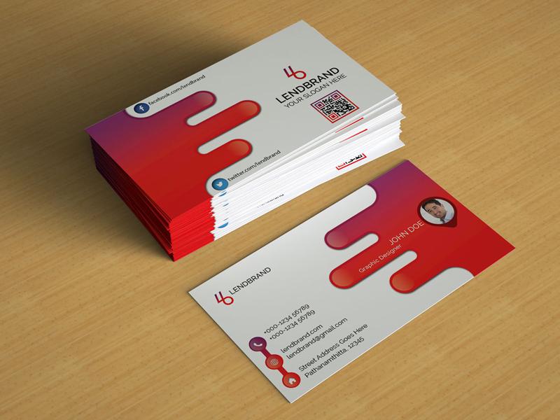 Modern-Visiting-Card-Design-PSD-www.mockuphill.com