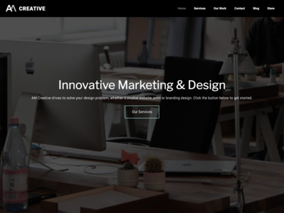 AM-Creative Website