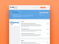 Press Page Design