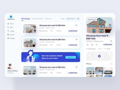 Real Estate Property Listing development company builders ad banner banner agency design support ofspace auction broker agent apartment house property real estate