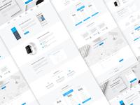 Startup Landing Page Design