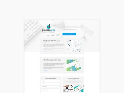 Website Redesign for DeviserWeb