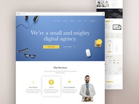 Onepage Agency Landing Page