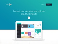 Startuo landing page
