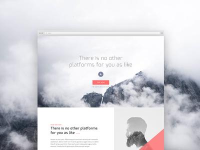 Free PSD Corporate Landing Page