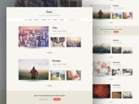 Photo+ Website Design