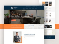 Website Design for Law Office.