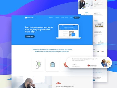Addwish | Website Redesign
