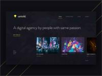 Dark Agency Header