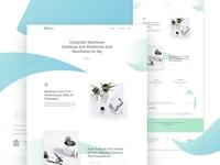 Clean & Minimal Landing Page