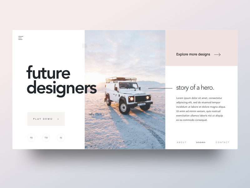 Future Designers - Header Style by Shekh Al Raihan ✪