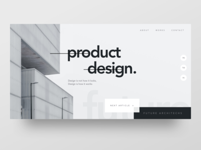 Product Design - Header Style