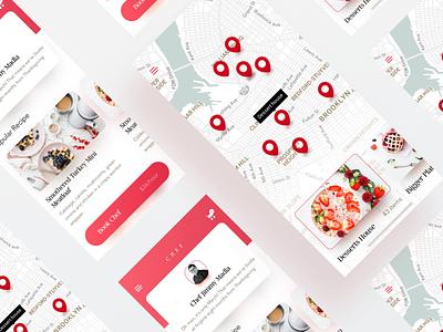 Food Delivery Mobile App doodash fodora zomato ubereats food chef delivery app