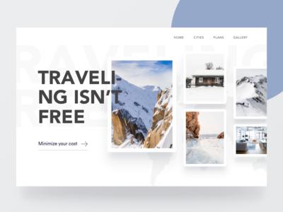 Travel Web Header