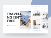 Travel Web Header