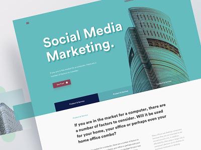 Marketing Agency Website Design marketing agency website social media website marketing page
