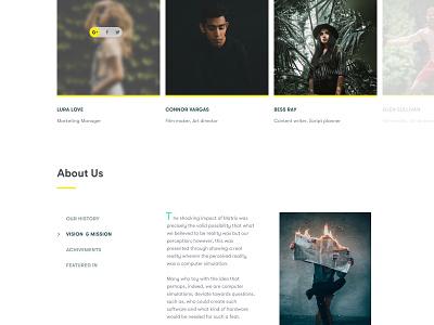 Digital Agency   Website Design 2018 clean website minimal design agency digital agency team firm
