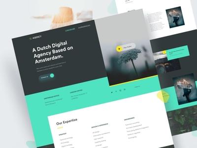 Digital Agency | Website Design 2018 clean website minimal design agency digital agency team firm